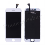 LCD Screen Display with Touch Digitizer Panel and Frame for iPhone 6 (4.7 inches)(Incell) - White PH-LCD-IP-00056WHI