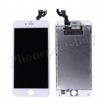 FULL LCD Screen Display with Touch Digitizer Panel and Frame,Front Camera,Earpiece Speaker & Proximity Sensor Flex Cable for iPhone 6S Plus (5.5 inches) (Generic Plus) - White PH-LCD-IP-00068WHP