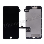 FULL LCD Screen Display with Touch Digitizer Panel and Frame,Front Camera,Earpiece Speaker & Proximity Sensor Flex Cable for iPhone 7 Plus (5.5 inches) (Generic Plus) - Black PH-LCD-IP-00073BKP