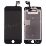FULL LCD Screen Display with Touch Digitizer Panel and Frame,Front Camera,Earpiece Speaker & Proximity Sensor Flex Cable for iPhone 6S (4.7 inches) (Generic Plus) - Black PH-LCD-IP-00067BKP