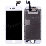 FULL LCD Screen Display with Touch Digitizer Panel and Frame,Front Camera,Earpiece Speaker & Proximity Sensor Flex Cable for iPhone 6S (4.7 inches) (Generic Plus) - White PH-LCD-IP-00067WHP
