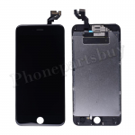 FULL LCD Screen Display with Touch Digitizer Panel and Frame,Front Camera,Earpiece Speaker & Proximity Sensor Flex Cable for iPhone 6S Plus (5.5 inches) (Generic Plus) - Black PH-LCD-IP-00068BKP