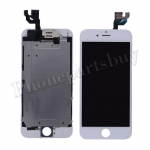 FULL LCD with Touch Screen Digitizer, Frame and Front Camera for iPhone 6 (4.7 inches) (Generic Plus) - White PH-LCD-IP-00060WHP