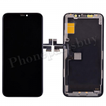 OLED Screen Display with Touch Digitizer Panel and Frame for iPhone 11 Pro(5.8 inches)(FOG) - Black PH-LCD-IP-00100BKA