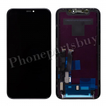 LCD Screen Display with Touch Digitizer Panel and Frame for iPhone XR(6.1 inches)(FOG) - Black PH-LCD-IP-00093BKA
