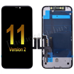 LCD Screen Display with Touch Digitizer Panel and Frame for iPhone 11(6.1 inches)(OEM) - Black(Version 2) PH-LCD-IP-00102BKAAN