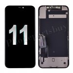 LCD Screen Display with Touch Digitizer Panel and Frame for iPhone 11(6.1 inches)(FOG) - Black PH-LCD-IP-00102BKA