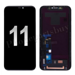 LCD Screen Display with Touch Digitizer Panel and Frame for iPhone 11(6.1 inches)(Generic) - Black PH-LCD-IP-00102BK