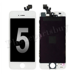 LCD Screen Display with Touch Digitizer  and Frame for iPhone 5 (Aftermarket) - White PH-LCD-IP-00018WHB