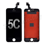 LCD Screen Display with Touch Digitizer and Frame for iPhone 5C (Aftermarket)- Black PH-LCD-IP-00040BKB