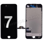 LCD Screen Display with Touch Digitizer Panel and Frame for iPhone 7(4.7 inches) (FOG)- Black PH-LCD-IP-00071BKA