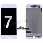 LCD Screen Display with Touch Digitizer Panel and Frame for iPhone 7(4.7 inches) (FOG)- White PH-LCD-IP-00071WHA