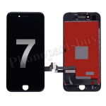 LCD Screen Display with Touch Digitizer Panel and Frame for iPhone 7(4.7 inches)(Aftermarket) - Black PH-LCD-IP-00071BK